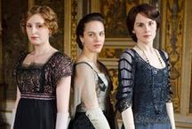 """Downton Abbey / Things are different in America, they live in Wig Wams."""" - Lady Violet / by Pilar Clark"""