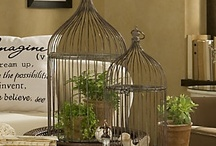 Does a Caged Bird Sing? / by Eye Candy Home Decor Tami Pullins