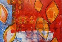 Gelli and Monoprints / by Marnie Morgan