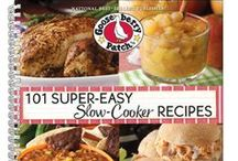 101 Super-Easy Slow-Cooker Recipes | Gooseberry Patch Cookbook / Recipes from our cookbook, 101 Super-Easy Slow-Cooker Recipes, that have been featured by some of our favorite bloggers! The names of the dishes are in the descriptions...click through for complete recipes.  / by Gooseberry Patch