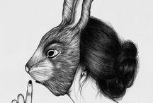 Illustrations en vrac ... pour l'instant / by Céline C.