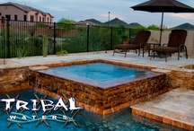 Tribal Waters Spa Gallery / Preview of our gallery, for the full pool and spa gallery check out our main website for Tribal Waters in Phoenix and Chandler Arizona! www.tribalwaters.com / by Tribal Waters Custom Pools and Spas