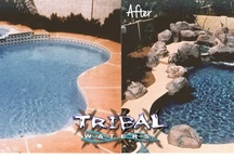 Pool Remodels / Not only do we builld new custom pools, we also do remodels here in Arizona. Check out our main website for Tribal Waters in Phoenix and Chandler! www.tribalwaters.com / by Tribal Waters Custom Pools and Spas