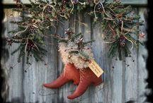 ~Prim/Rustic Christmas~ / by Marla Corson