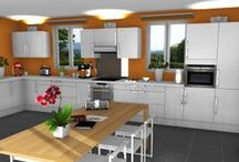 Free Home Design Software / Free 3D home design software for interior designs of homes, bedroom, kitchen, bath, office / by HomeByMe