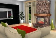 3D interior design ideas / Interior Design Ideas using HomeByMe and 3D / by HomeByMe