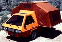 Vans & Motorhomes / Vans, conversions, motorhomes and homemade in-betweens from the early days up till now / by Frank Heylen