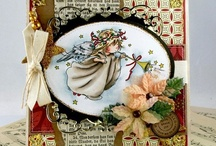 LOTV - Christmas Angels / You are very welcome to repin any of the cards on our boards. Please do not repin any plain LOTV stamped images you may come across that do not have a watermark as it breaches our copyright. many thanks x / by Lili of the Valley Ltd