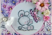 LOTV - Bunnies / You are very welcome to repin any of the cards on our boards. Please do not repin any plain LOTV stamped images you may come across that do not have a watermark as it breaches our copyright. many thanks x / by Lili of the Valley Ltd