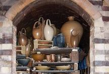 pottery / Pottery -- contemporary and from Antiquity. Also some that I made. / by S  t  r  a  m