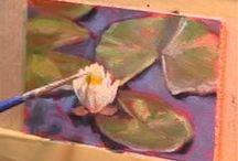 aprendiendo a dibujary pintar / by marianela patricia aguero alvarez
