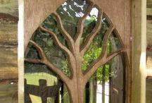 Tree as symbol / Tree of life, trees, family tree, tree pics and paintings / by Ute Schmid