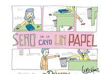 Señor se le cayo un papel / Campaña de Concientización. / by Soyd Chacras