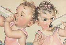 Vintage Baby Nursery Inspiration ~ / by Laura Slade