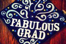 Decorated Caps / by University of Bridgeport