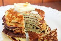guilt less pancakes / by Hannah Victoria