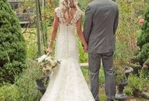 He Asked! Wedding Attire / wedding dresses, ideas for him, bridesmaids, etc. / by Julie Goetz