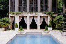 Exterior Love, Pools & Doors / by Design Goddess
