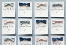wedding escort cards / by Jordan McBride
