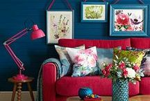 Bright and Beautiful / Fresh, vibrant and welcoming - get some contemporary colour into your home! www.achica.com / by ACHICA