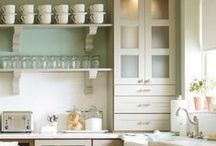 Country Living / Farmhouse pastels, soft prints and cottage textiles www.achica.com / by ACHICA