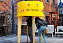 Little Free Libraries,  little libraries, and bookmobiles. / Library fings what are free. / by Martyn Ravensdale