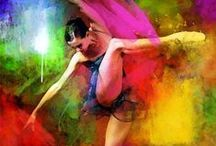 Dance on Canvas / Dance inspiration in different medias of art / by The Washington Ballet