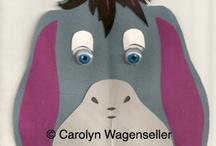 Paper Masks / by Carolyn Wagenseller