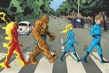 Marvel Superheroes / Avengers, Iron Man, X-Men, Captain America, Hulk, Thor, Wolverine, Spiderman, Doctor Strange, Guardians of the Galaxy, Punisher, Ghost Rider, Dare Devil Etc... / by Josh Rudolph
