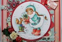 My Papercraft Inspiration - Christmas / Ideas for Christmas Cards / by Shona Hamill