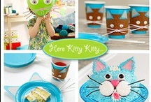 Kitty Birthday Parties / by Off-Leash Art™