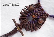Knots -Braids- Macrame-& Weaving / This board covers many different techniques- so much fun and so pretty. / by Barbara Marlow
