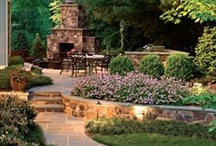 Deck/Patio/Yard / Beautiful ideas for the outside of the home! / by Shawn Ballou