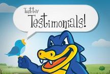 Twitter TESTIMONIALS / See what our customers are saying about us on Twitter! And follow us @hostgator (All testimonials are reproduced with permission and are completely unsolicited.) https://twitter.com/hostgator / by HostGator