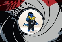 "SPECIAL AGENT SNAPPY / The newest James Bond film, ""Skyfall"", premieres Friday, November 9. ""Special Agent Snappy"" still awaits a release date, but here are some stills from the highly anticipated production. (Check out a unique take on the James Bond theme song in the final pin!) / by HostGator"