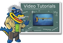 HostGator VIDEO TUTORIALS / Our comprehensive collection of video tutorials, organized by topic. Click through a pin to view the lessons. / by HostGator