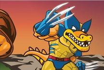 X-MEN: SNAPPY / The lines for Wolverine are LONG. Snappy stars in his own version of X-Men (no waiting)! / by HostGator