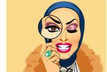 drag / by Dame Berta