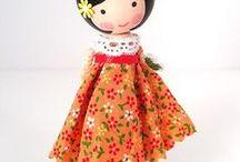 Peg Dolls Clothespin  / by Katrina Stewart
