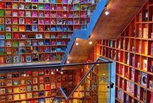 Libraries and Bookstores around the World / A library is a large collection of books, and can refer to the place in which the collection is housed. Some libraries make famous landmark of the cities. In this post, I have collected some beautiful libraries around the world, which are especially for books lovers. These libraries deserve to be cherished and revered. I hope all you enjoy this article and give some precious comment…. / by Carlos Sathler