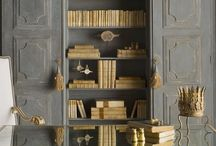 Bibliotheca / Books make a home cozy...and I love to read them / by Gayle Tweed