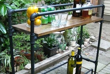 Outdoor Kitchen & Furnishings / DIY and Inspiration / by Crystal Risch