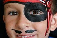 costumes/face painting / by Wanda Strickland