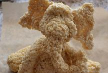 Rice Krispie Toppers & Cakes / by Sharyn Richards