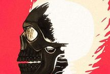 Ghost Rider & Mephisto / Ghost Rider & Mephisto / by darrin C*