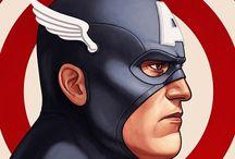 Captain America & U.S. Agent & Sharon Carter(Agent 13) - the Avengers / Captain America & U.S. Agent & Sharon Carter(Agent 13) - the Avengers / by darrin C*