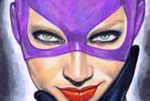 Catwoman & Huntress / Catwoman & Huntress / by darrin C*