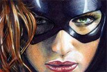 Batgirl & Batwoman/Black Bat & Oracle / Batgirl & Batwoman/Black Bat & Oracle / by darrin C*
