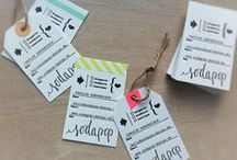 LABELS & CO ♥ / by Fraise & Basilic