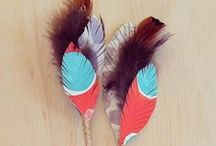 FEATHER // PLUMES ♥ / by Fraise & Basilic
